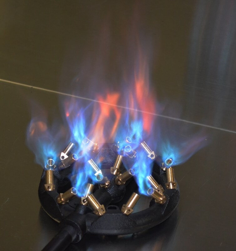 20 jet ring jet burner for natural gas