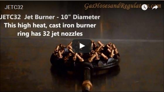 32 Tip Jet Ring Burner