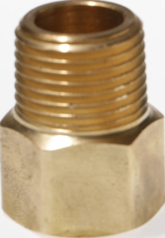 Male NPT x Female NPT Brass Adapter