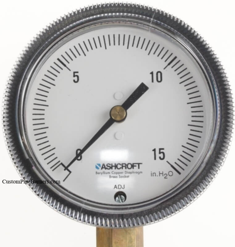 Pressure Gauge Ashcroft  Low Pressure Test Gauge, for WC with 1/8