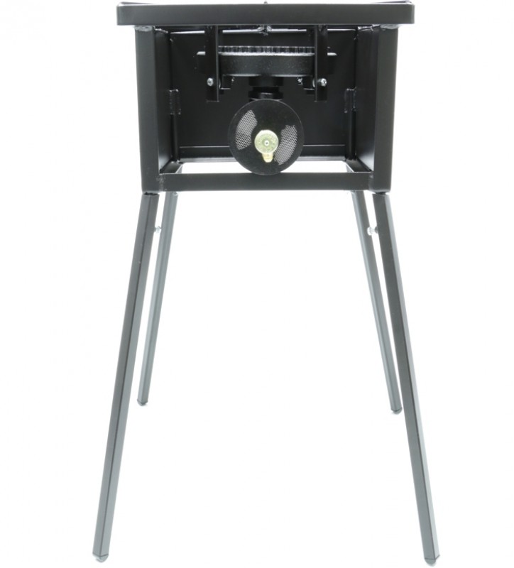 "Low Pressure Propane or Natural Gas Cooker Stand Series with 8"" Diameter 80,000 Btu/hr Burners"