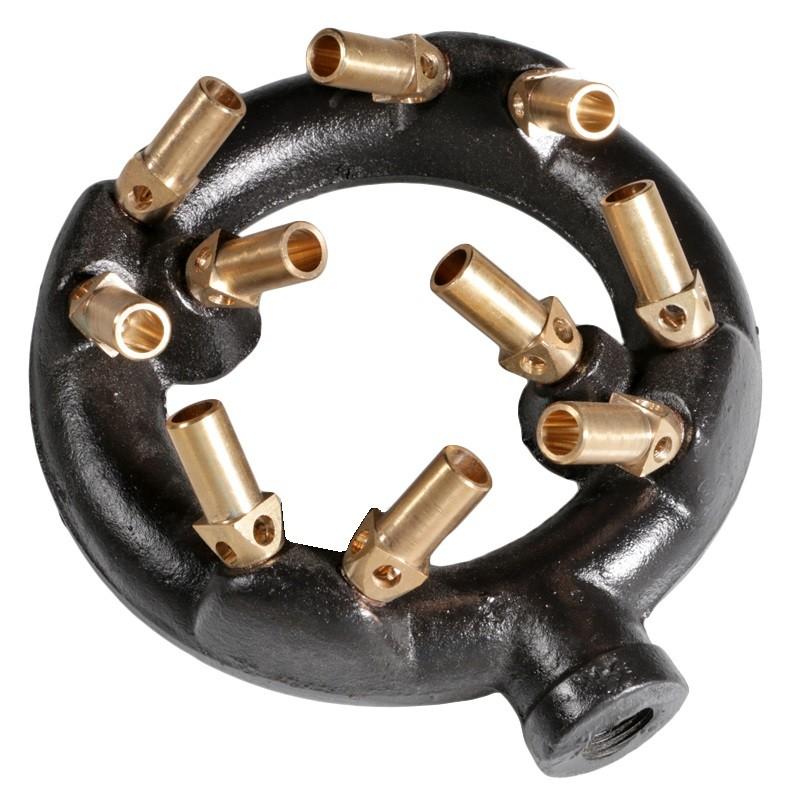 "6"" Diameter Jet Ring Burner, 100,000 Btu/hr"