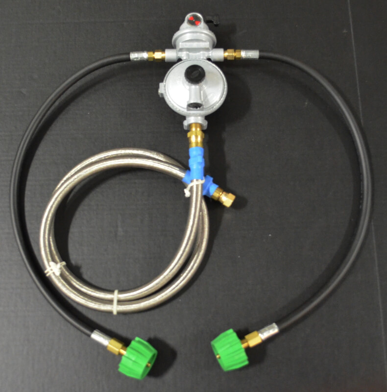 Dual Tank Auto Changeover Low Pressure Regulator