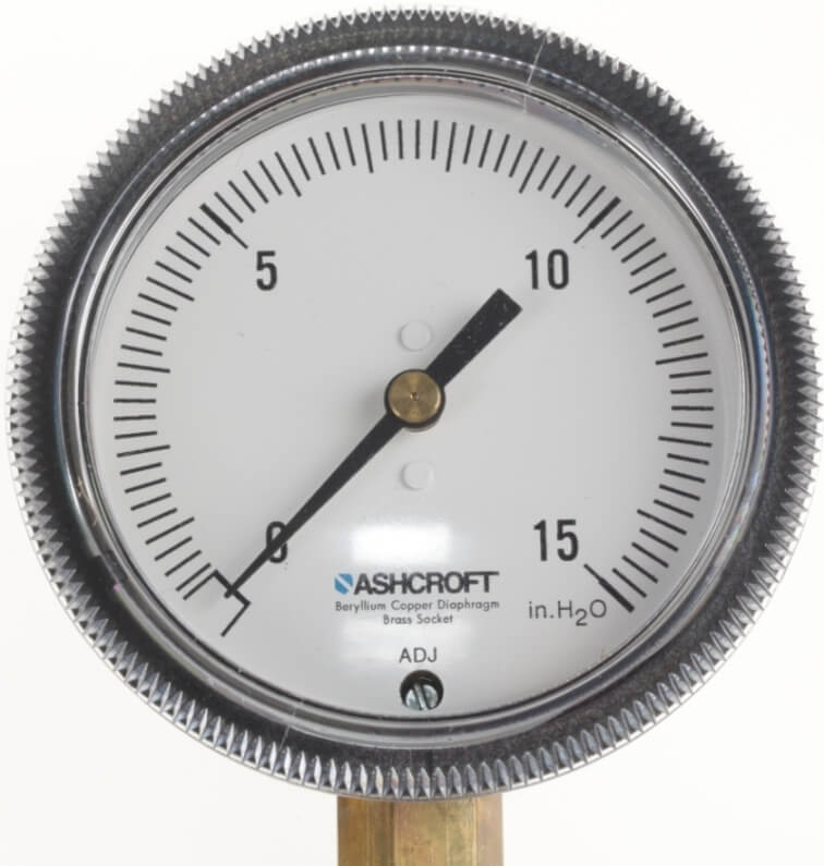 Ashcroft Low Pressure Gauge