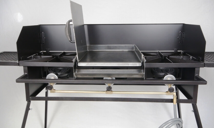 Triple Burner Cooker Stand COMBO