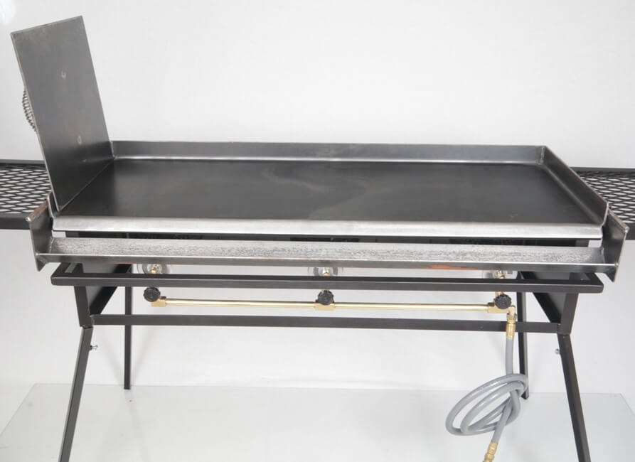 Large Griddle Shown on CS3 Along With Optional BACON Press