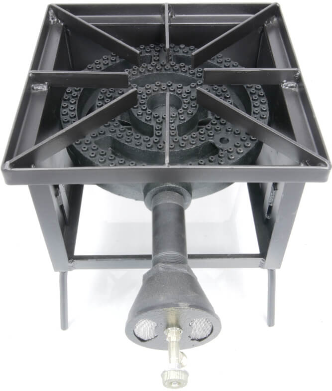 Single  Burner Cooker Stand with a 12 inch Diameter Burner
