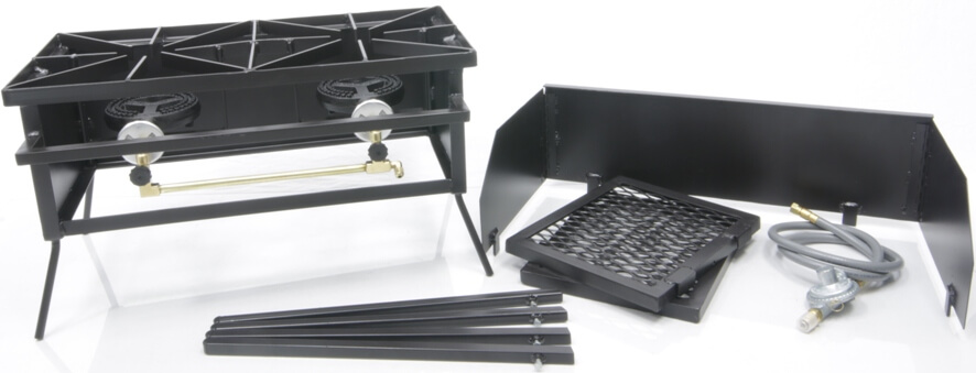 Double Burner Cooker Stand COMBO