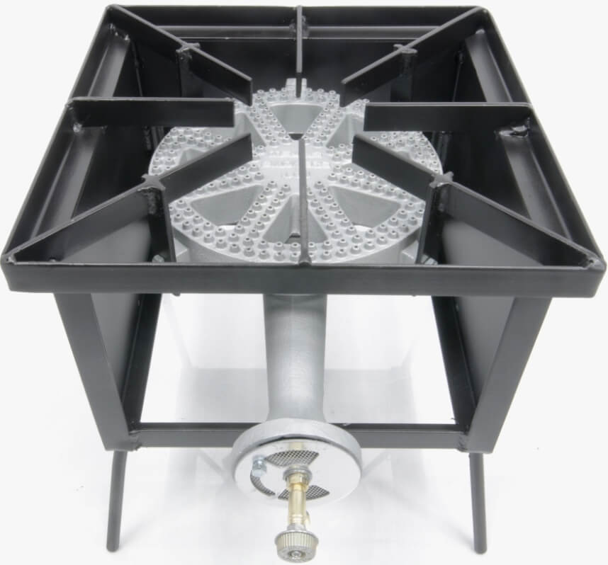 Single Burner Cooker Stand with a 10 inch Diameter Burner
